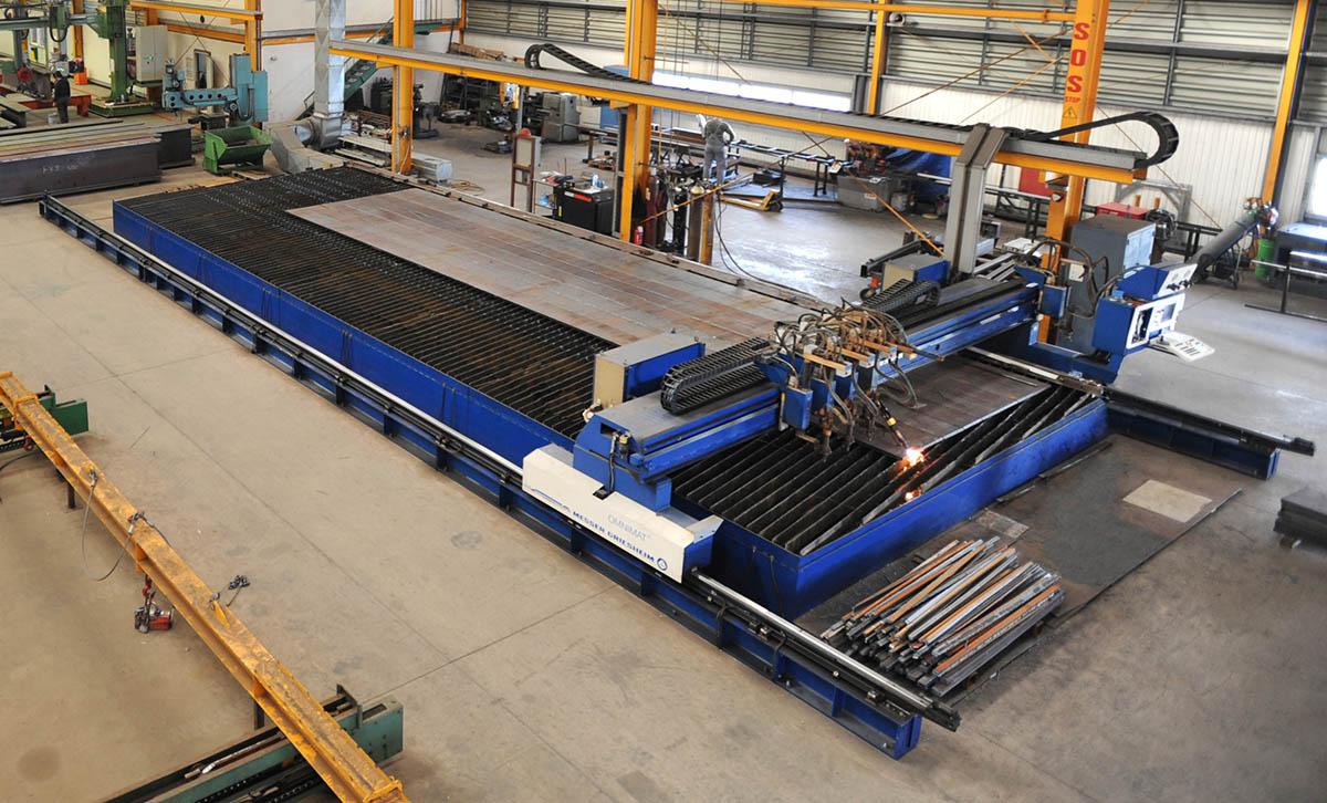 06 CNC Plate cutting machine Cutting Table