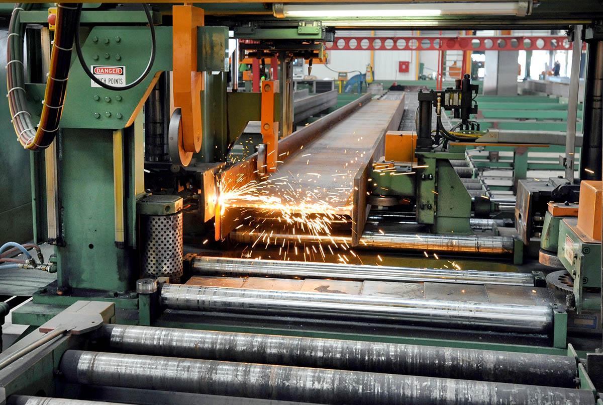 10 CNC Beam Thermal Cutting Coping Machine