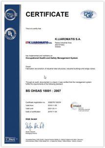 BS OHSAS 18001 EN