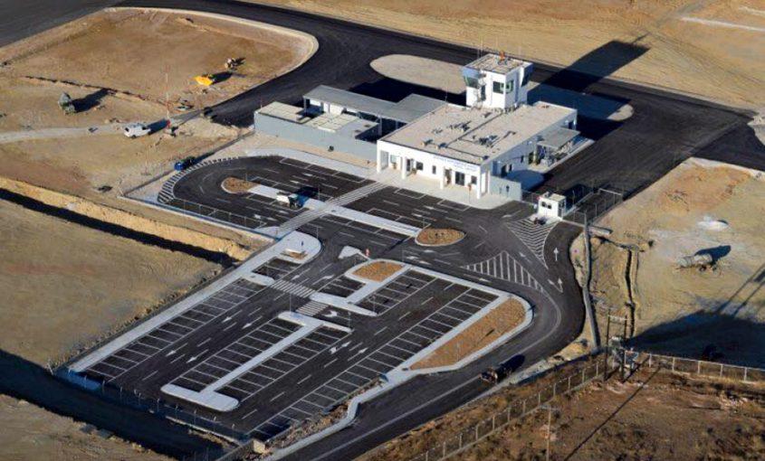 Paros Airport - Steel Buildings