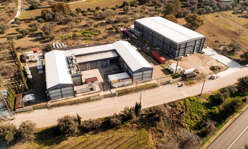 Antonopoulos Winery - Steel Buildings